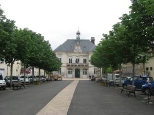 Hotel de Ville, Aigre, France