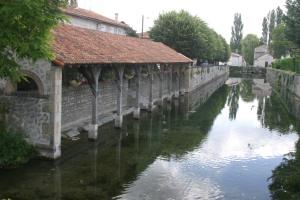 Wash House, Ruffec, Charente, France