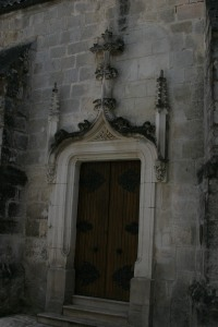Church Door, Jarnac, France