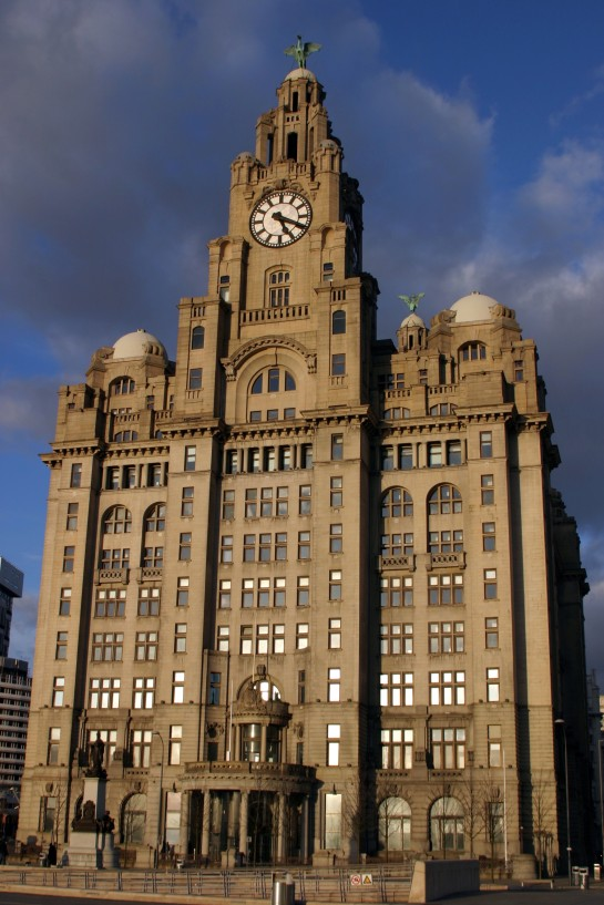 "The Royal Liver Building complete with Liver Bird. One of the ""Three Graces"""