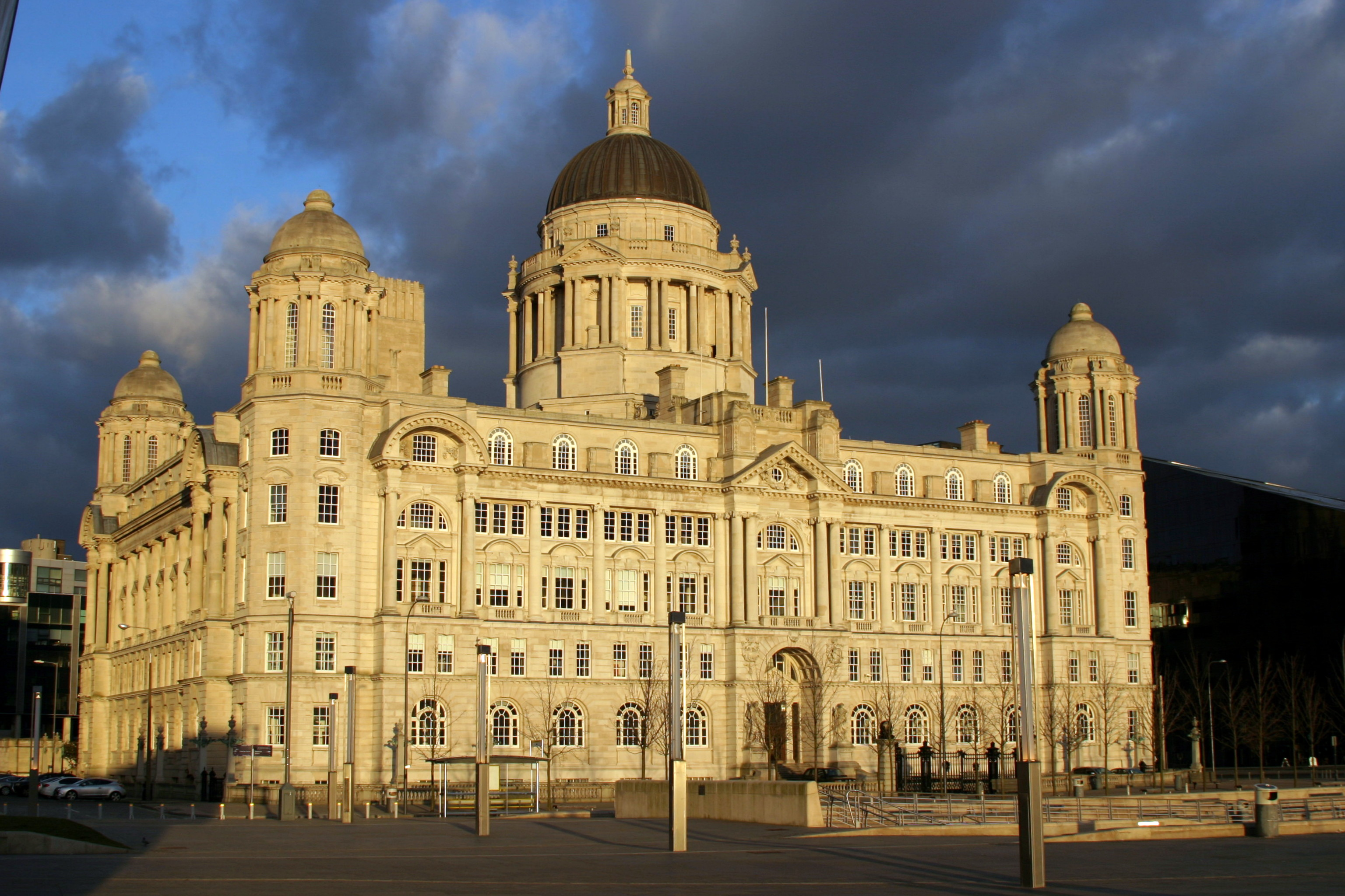 """The Port Of Liverpool Building. One of the """"Three Graces"""""""