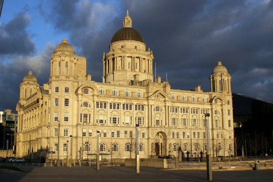 "The Port Of Liverpool Building. One of the ""Three Graces"""