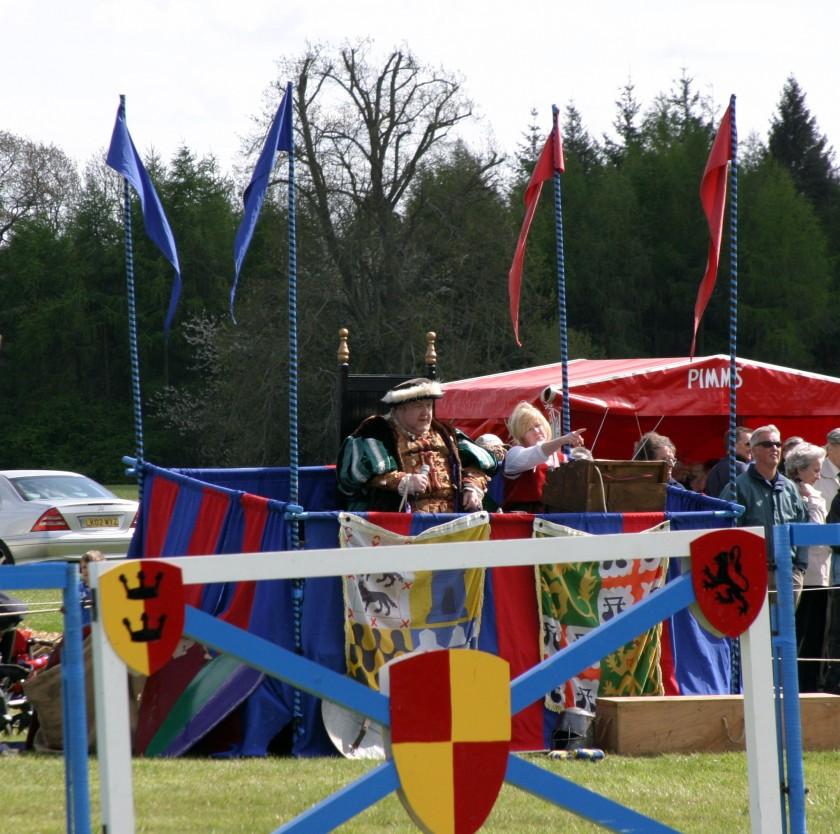 King Henry VIII - Jousting at Blenheim Palace