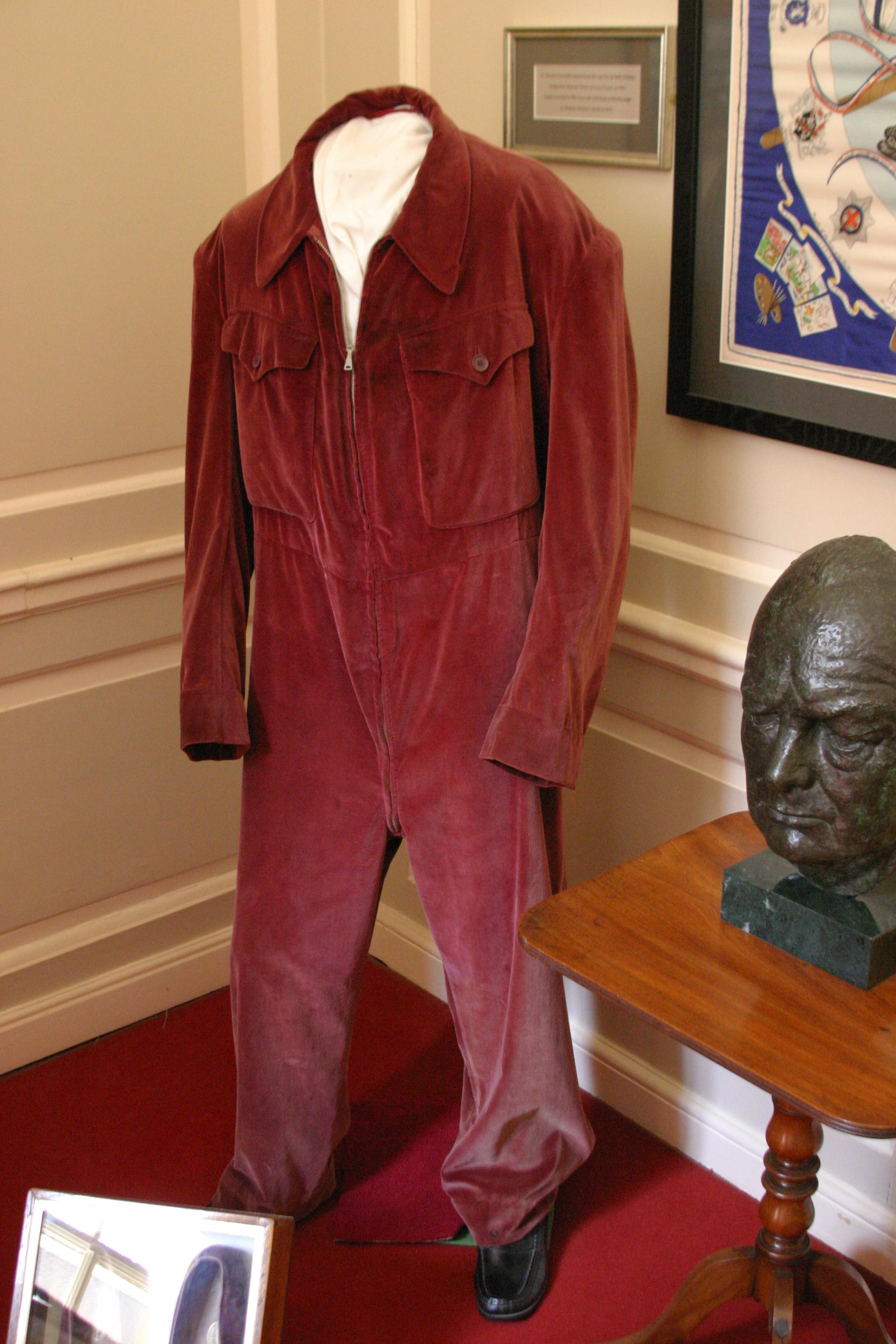 """Churchill's """"onesy"""" or SIren Suit"""