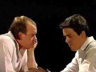 Mel Smith and Griff Rhys Jones