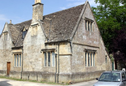 Bampton - The old Grammar School building, which now houses Bampton Community Archive, served as 'Downton' hospital. Unfortunately closed when we were there.