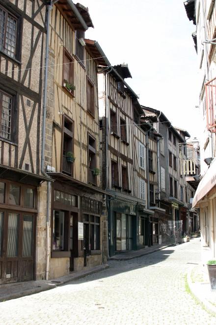 Quartier de la Boucherie - Limoges, France