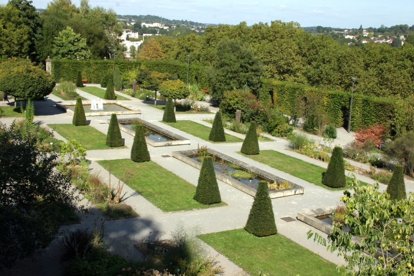 Cathedral Gardens - Limoges, France
