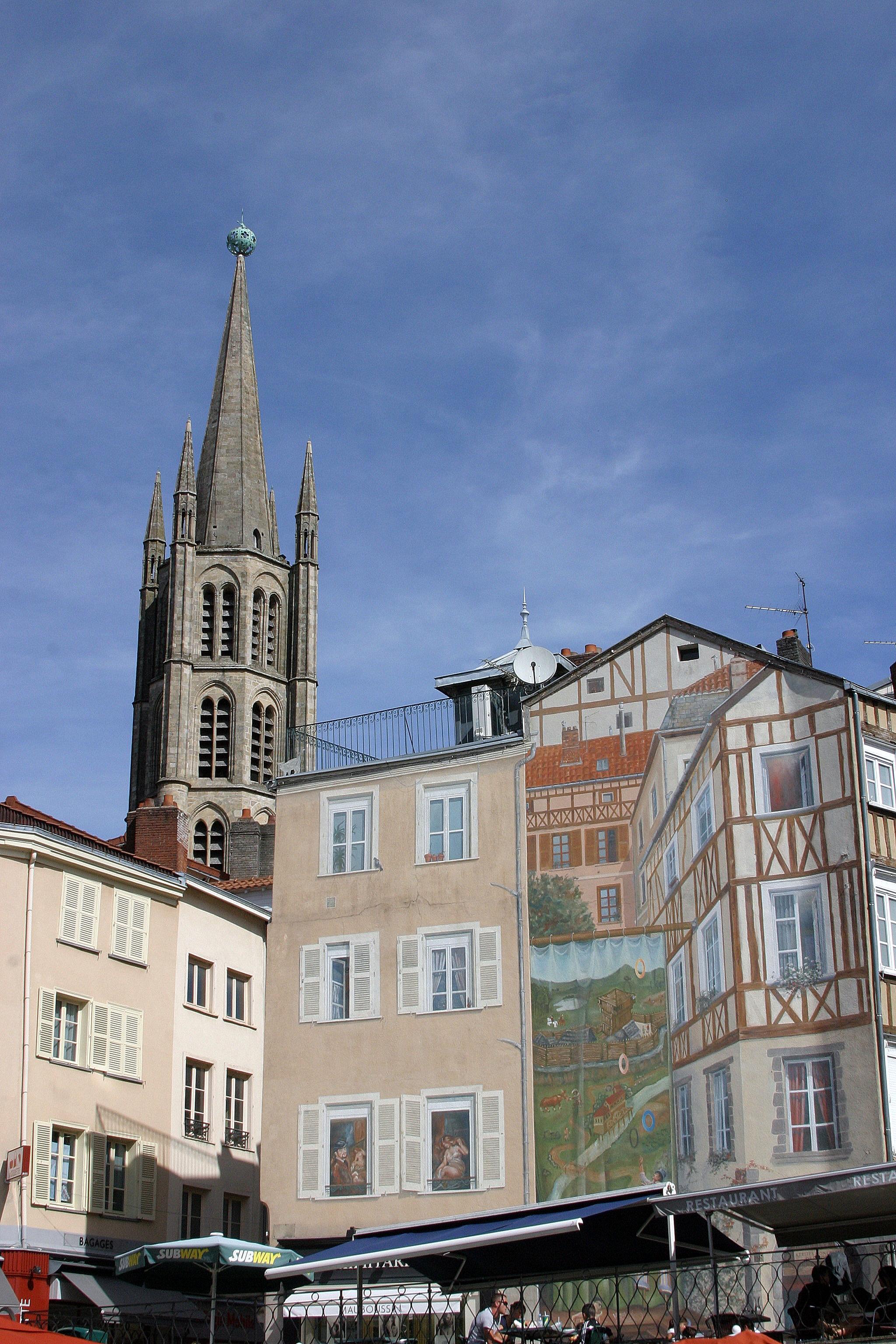 Église Saint Michel Des Lions, Limoges, Limousin, France