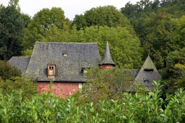 Collonges-la-Rouge, Correze, France - A hint at what makes this one of the most beautiful villages in France