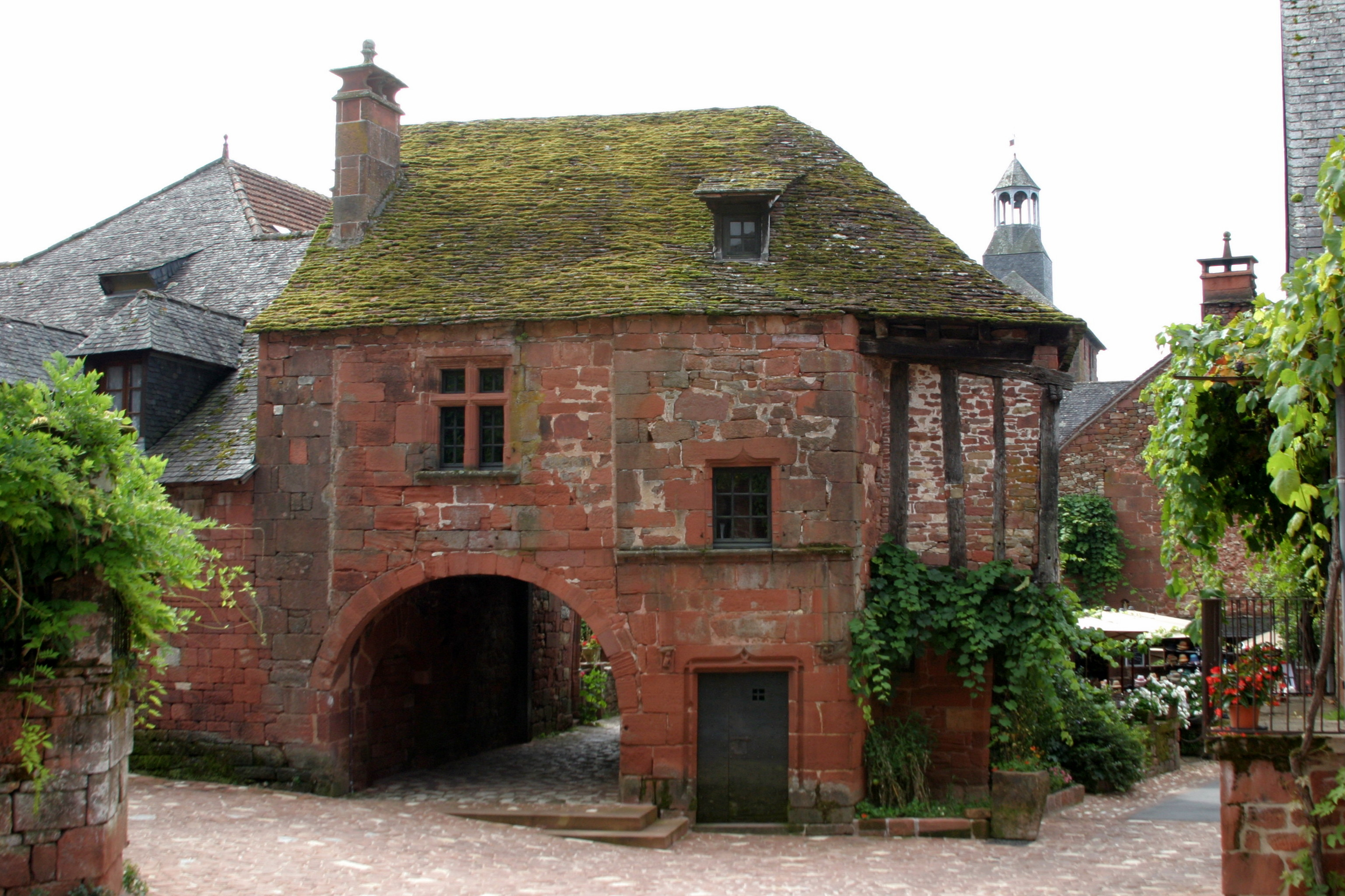 Collonges-la-Rouge, France - Archway