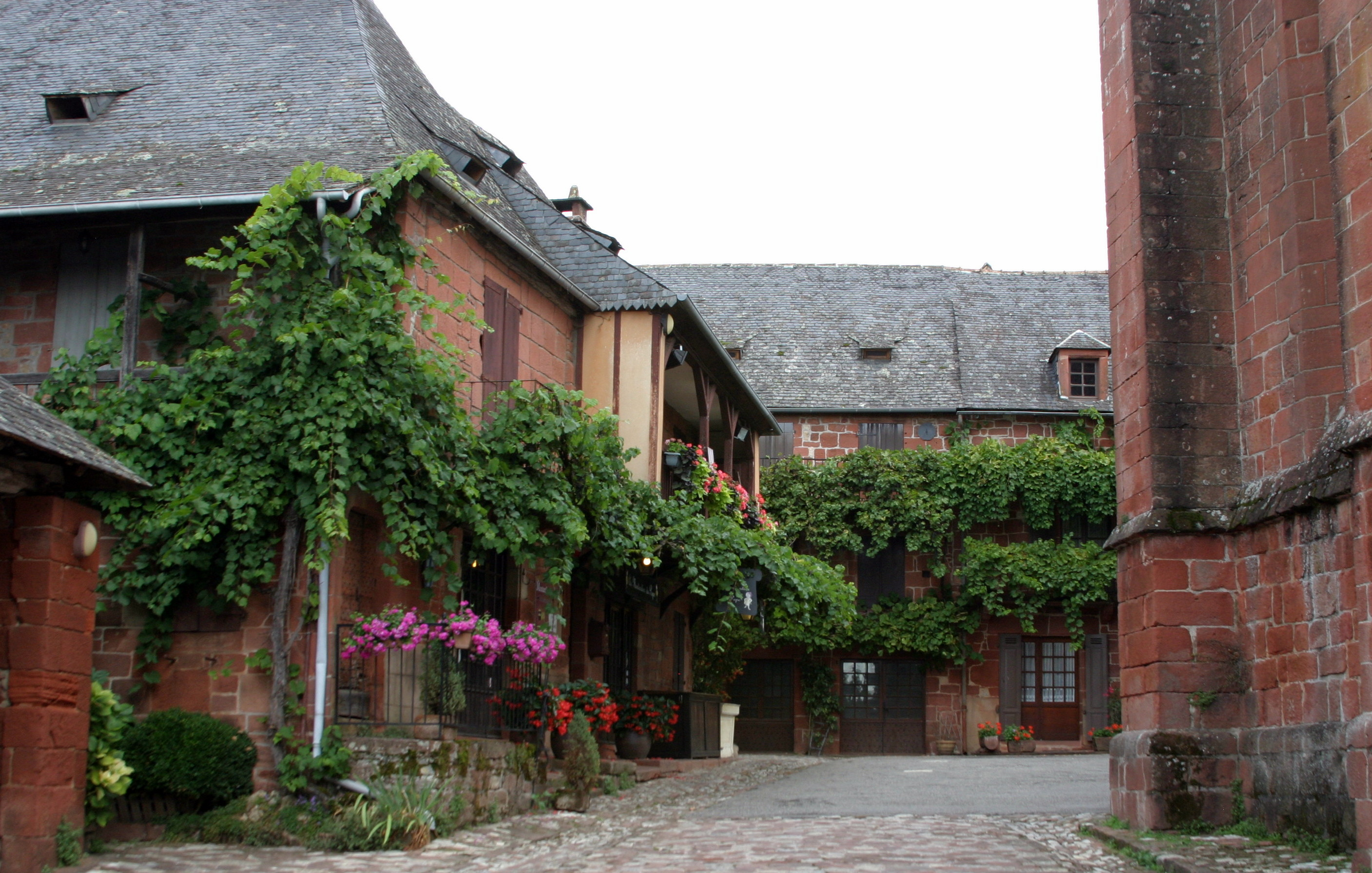Collonges-la-Rouge, France - view