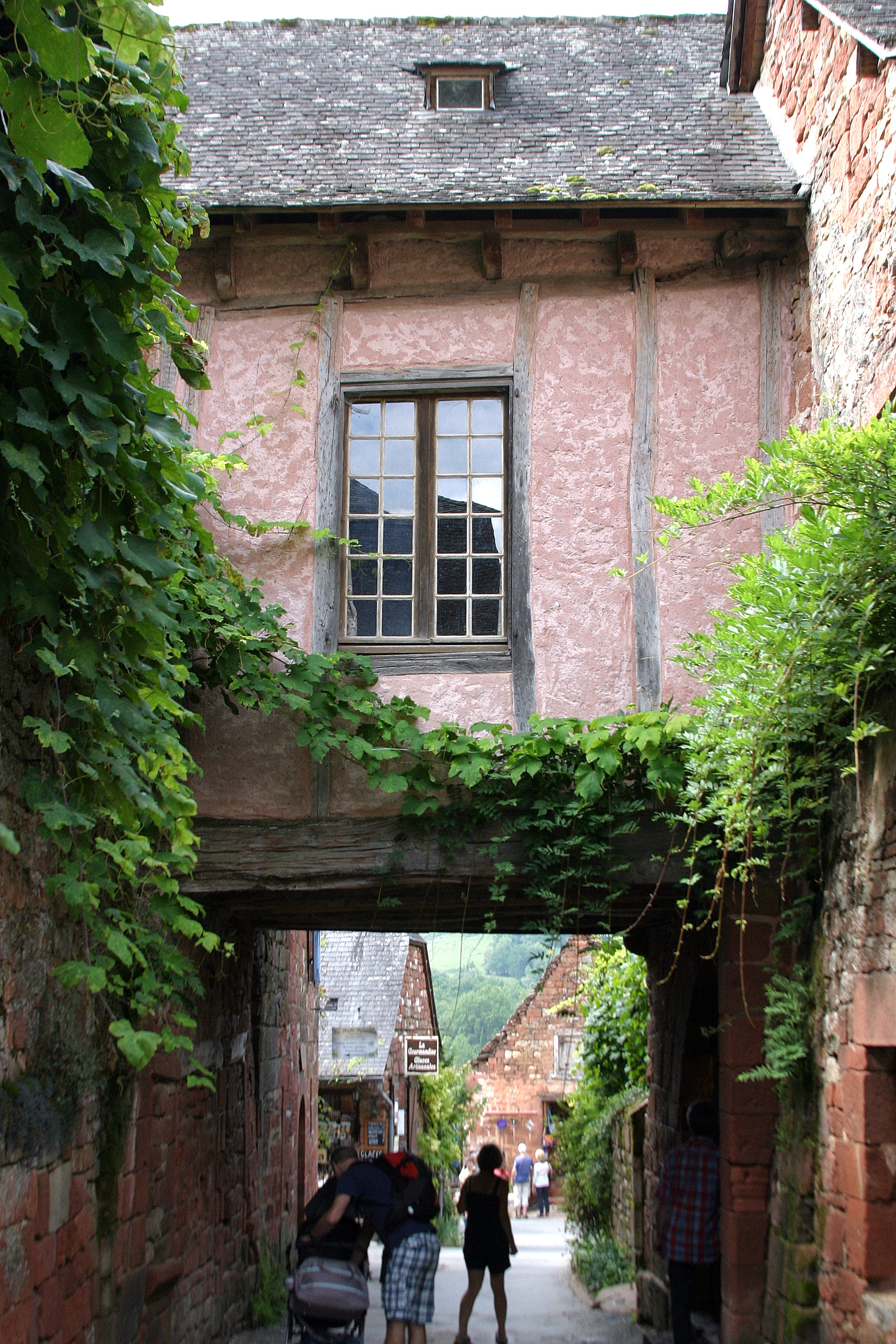 Collonges-la-Rouge, France - Street view
