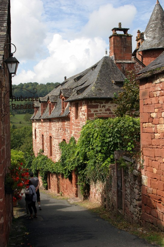 Collonges-la-Rouge, France - quaint streets