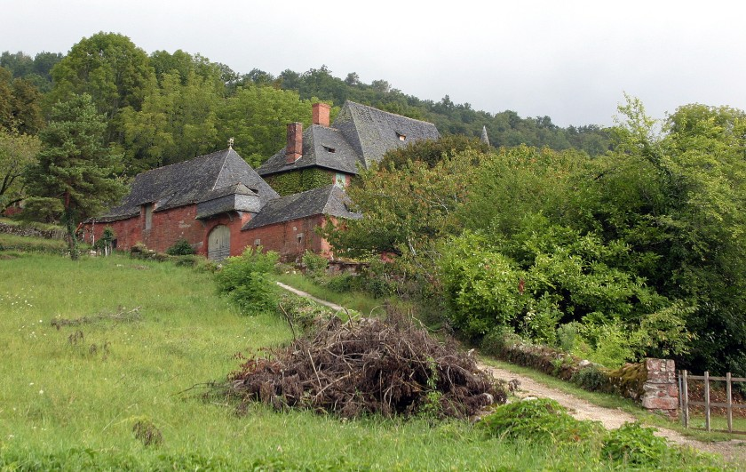 Collonges-la-Rouge, France - One of the more remote properties.