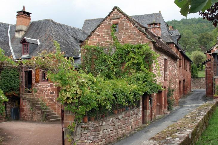 Collonges-la-Rouge, France