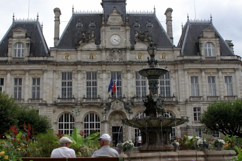 Limoges, France - Hotel de Ville