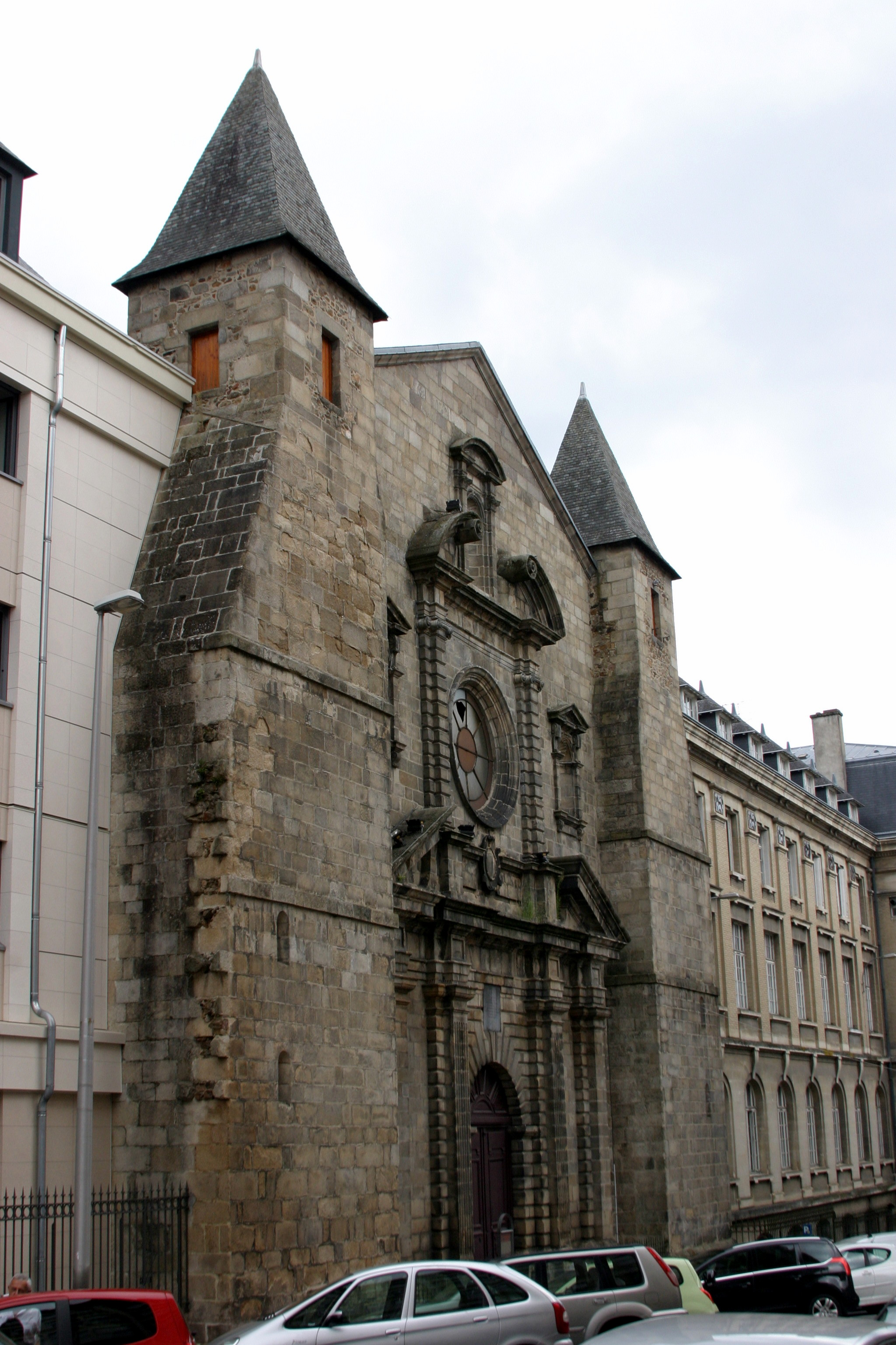 Limoges, France - Chapelle du College des Jesuites - Built 1629