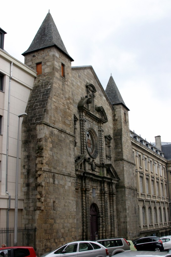 Limoges, France - Chapelle du College des Jesuites - Built 1629