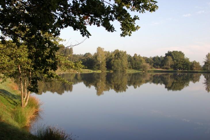 etang des Pierres du Mas  -  The Pond of Pierre Mas