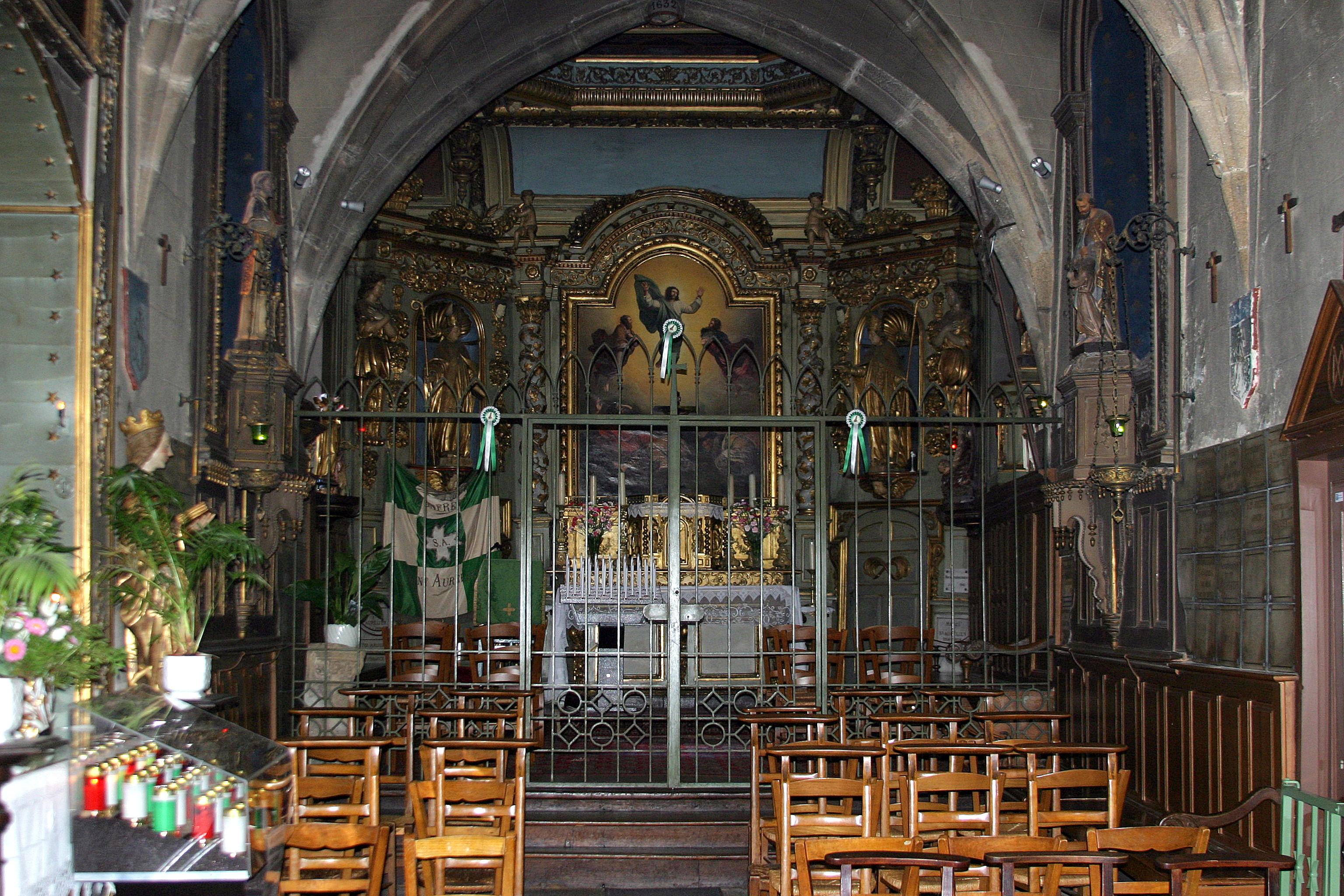 Chapelle Saint-Aurelien - Limoges, France