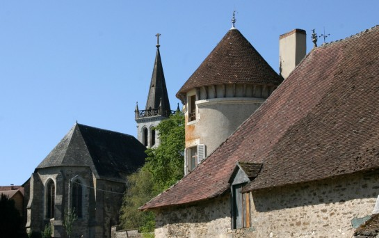 Roof lines - Magnac-Bourg, France