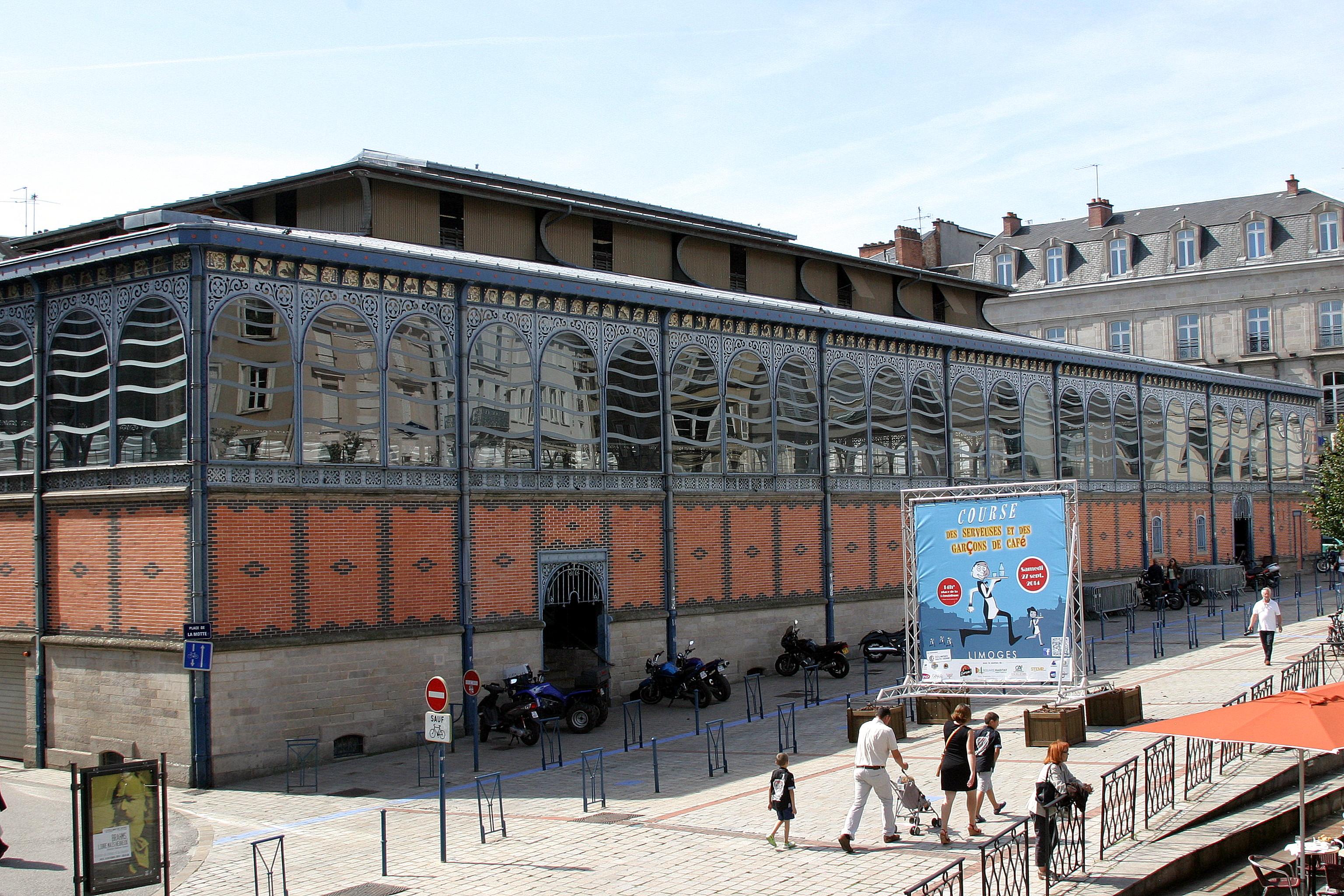 Central Market - Limoges, France