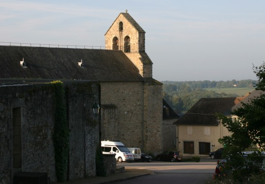 Masseret, Limousin, France - The 12c. Church of St. Catherine.