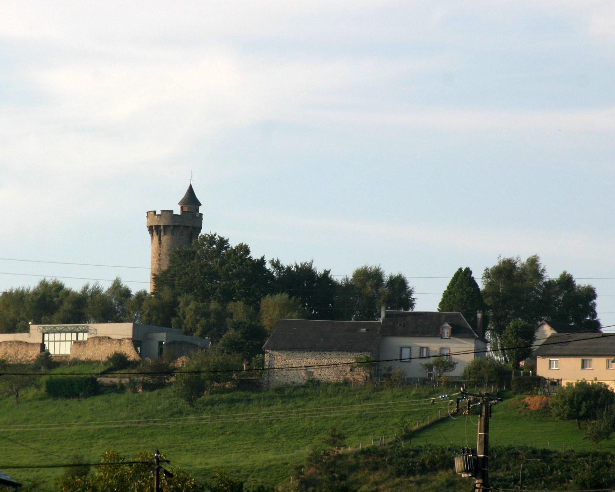 Masseret, Limousin, France - Hilltop Tower