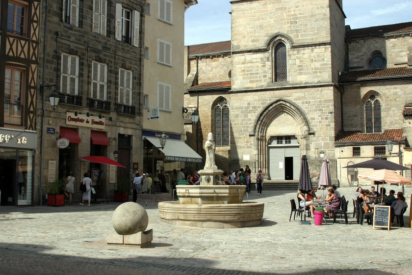 Place Saint Michel - Limoges, France