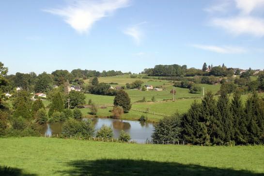 Countryside, La Porcherie, Limousin, France