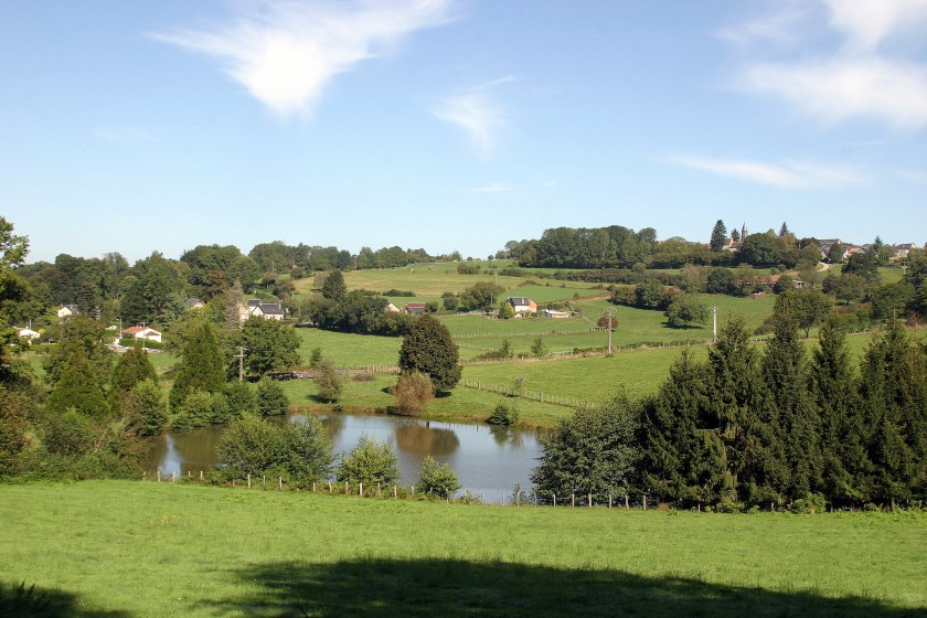 Countryside, La Porcherie, Limousin, France
