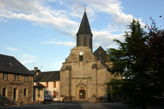 La Porcherie, France - 12th Century Church