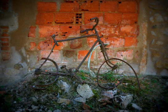 Bicycle - Oradour-sur-Glane, Limousin, France