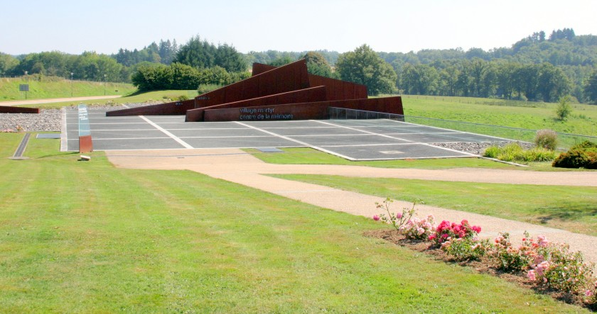 Centre de la Memoire, Oradour-sur-Glane, Limousin, France