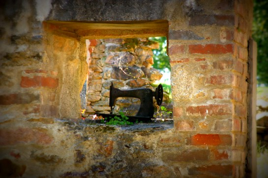 Sewing Machine - Oradour-sur-Glane, Limousin, France