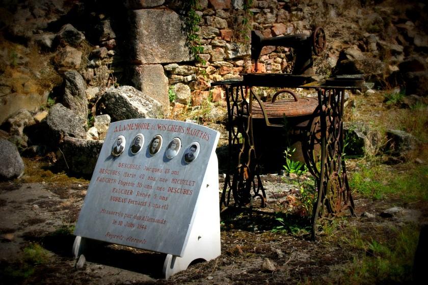 Family Memorial - Oradour-sur-Glane, Limousin, France