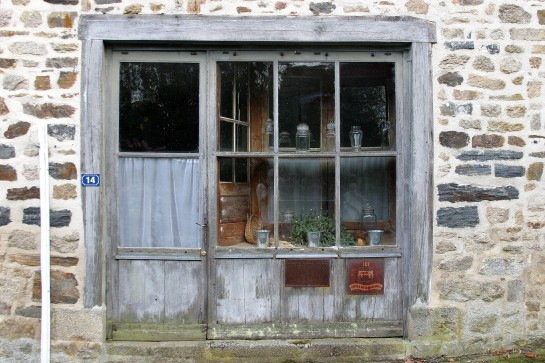 La Porcherie, France - Old Shop Front