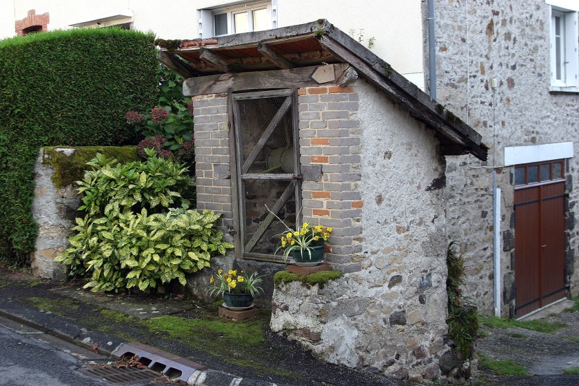 La Porcherie, France - Village Well