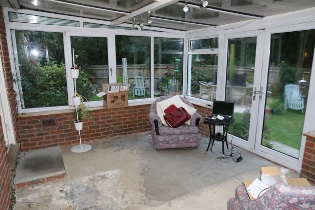 Old Conservatory - Interior