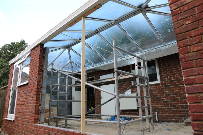 Conservatory - Another view of the roof glazing.