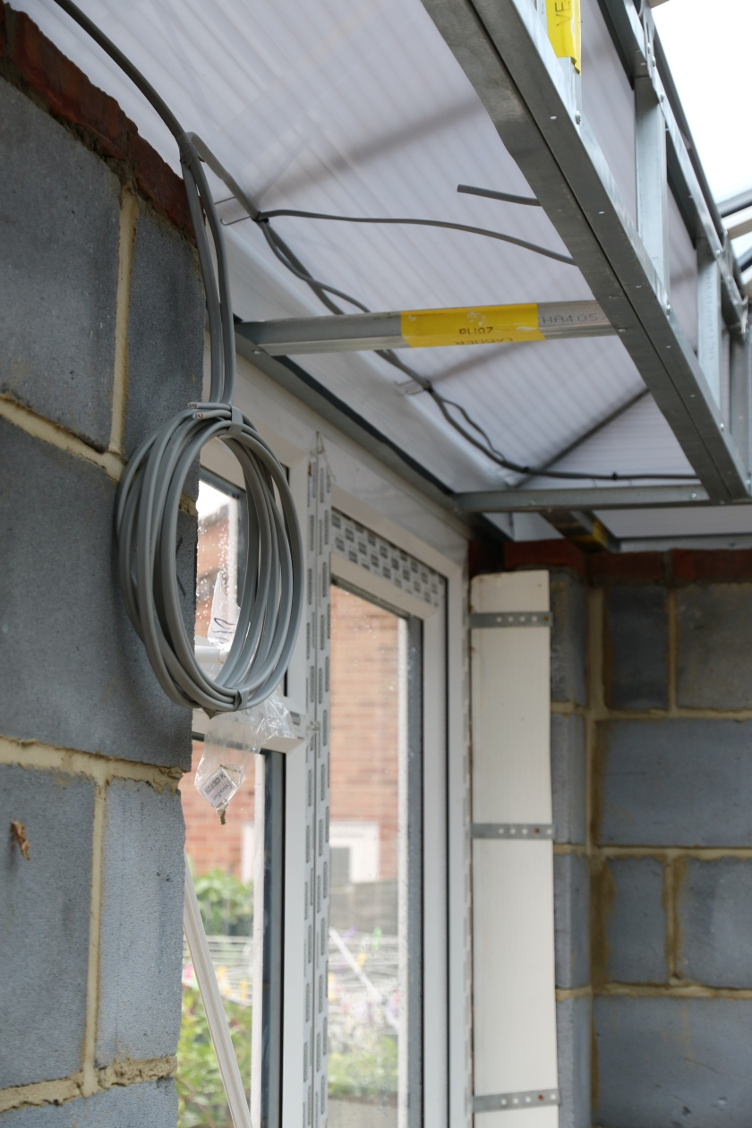 Conservatory - Electrical 1st Fit