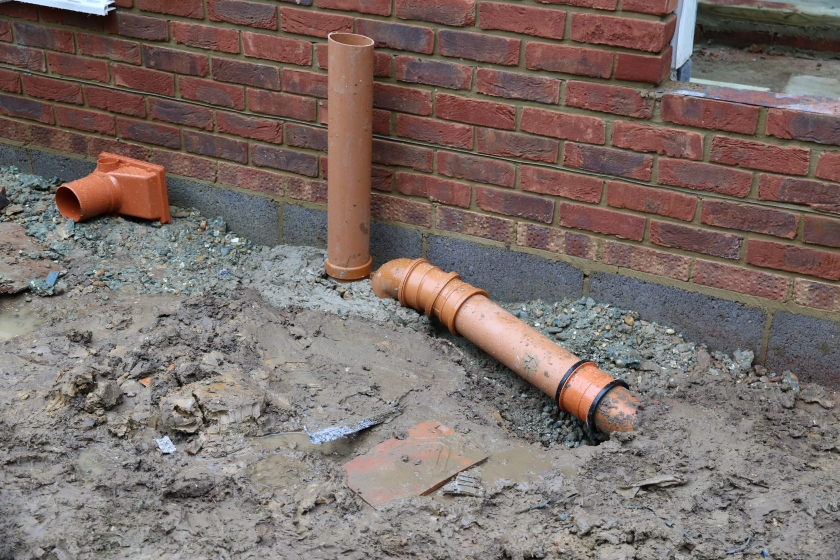 Conservatory - Utility drain reinstated