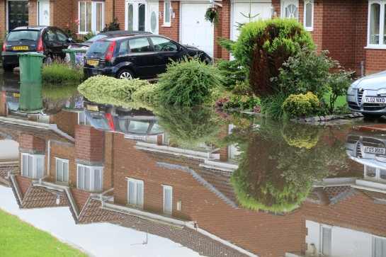 Moreton Floods - Millhouse Lane Reflections