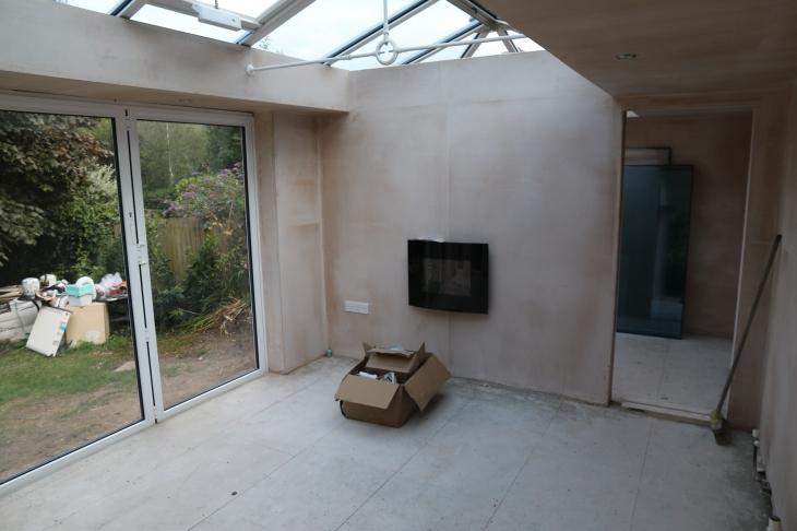 Conservatory - Wall mounted