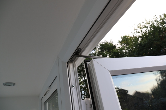 Conservatory - Door stay fitted.