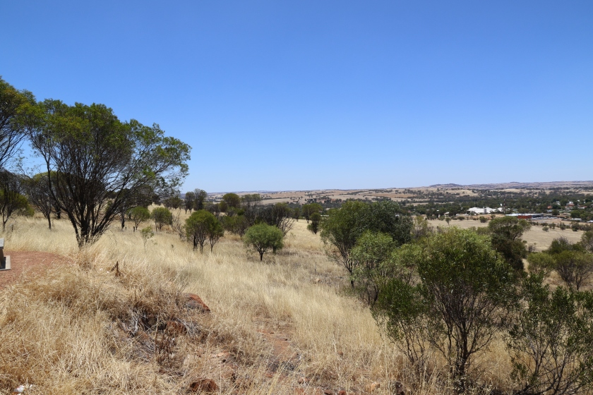 Countryside surrounding Northam WA - Viewed from Mt. Ommaney