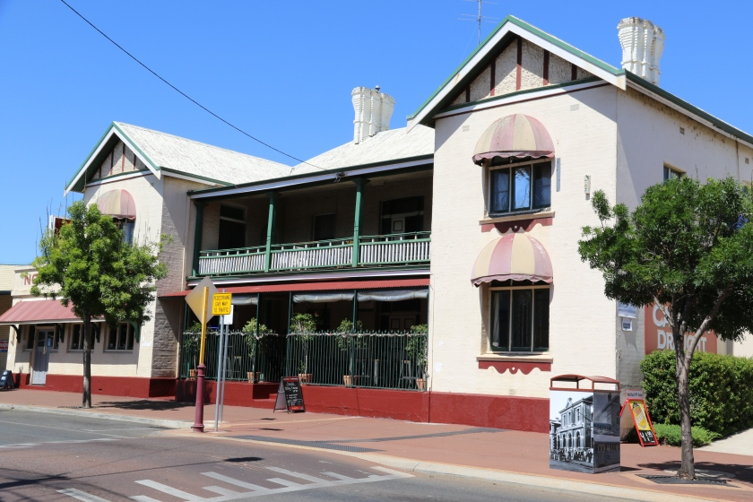 Northam Hotel - The original hotel was built on the site In 1887 although a licence had been operating from the site since 1890.
