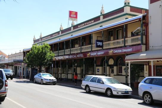 Commercial Hotel, Northam - Built 1902-1903