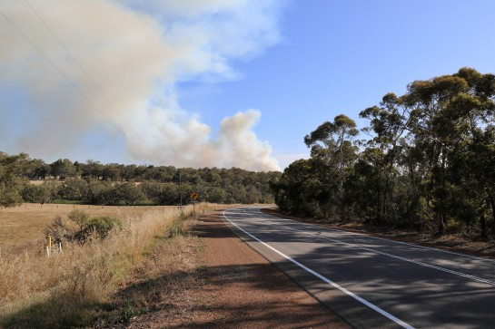Bush Fire - Gidgegannup, WA